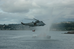 David Pugliese Ottawa Citizen photo Dangling from a Sea King